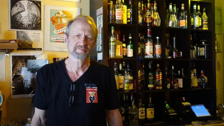 Russian-Canadian bar owner says he's targeted by harassment, taunts