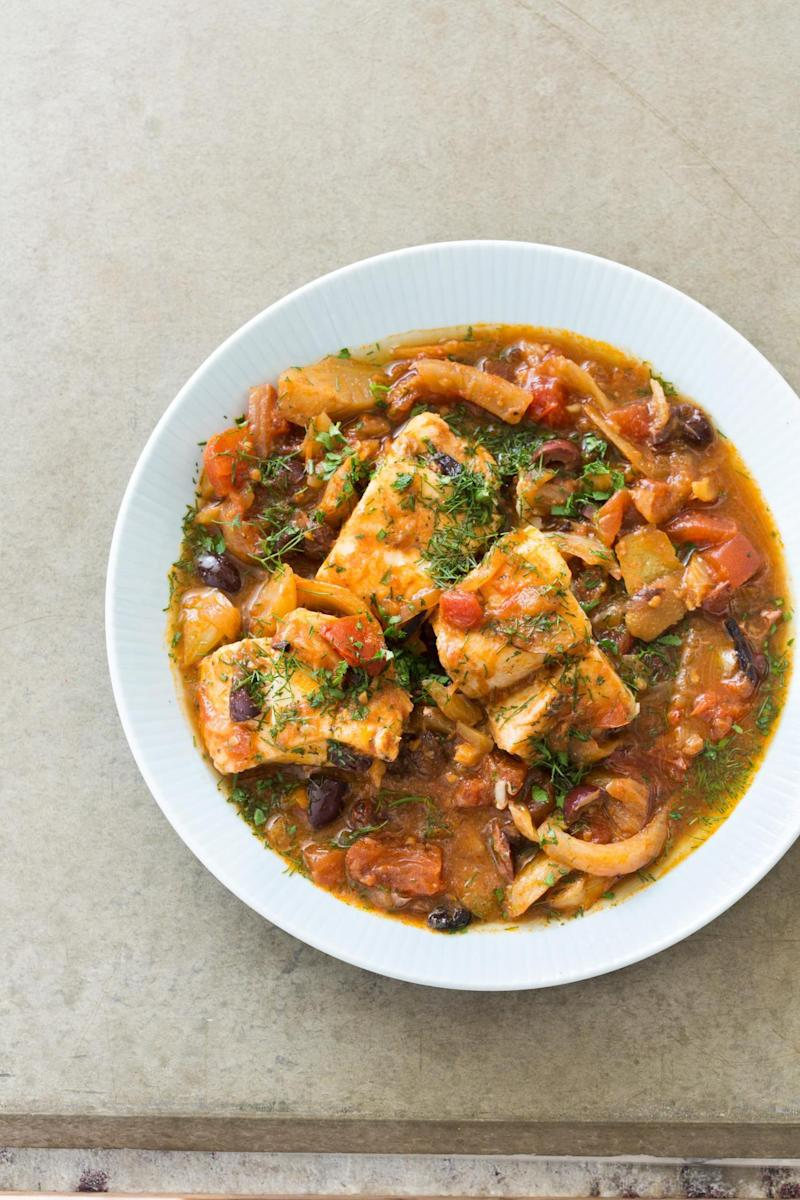 Slow cooker moroccan fish tagine from paleo perfected for Fish slow cooker recipes