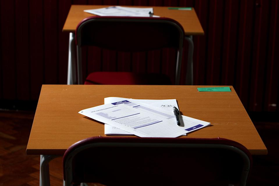 It comes as a consultation on possible changes to GCSEs and A-levels in 2022 closes today.  (PA Archive)