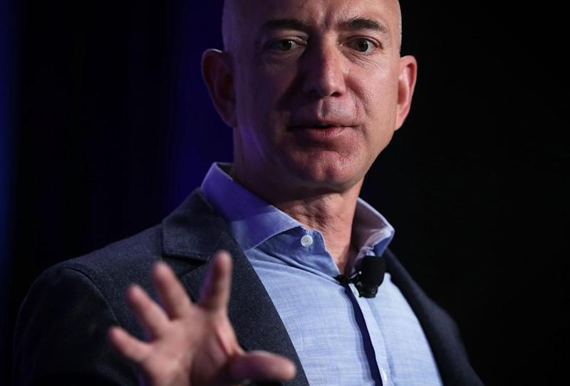 Jeff Bezos, the founder and chief executive of Amazon.com