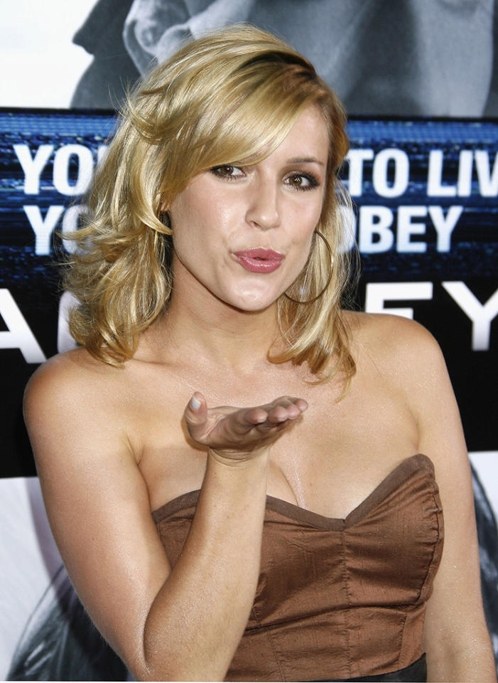"<a href=""http://movies.yahoo.com/movie/contributor/1809681105"">Kristin Cavallari</a> at the Los Angeles premiere of <a href=""http://movies.yahoo.com/movie/1809955918/info"">Eagle Eye</a> - 09/16/2008"