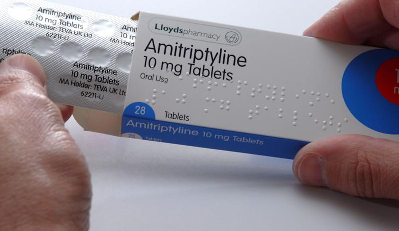 Amitriptyline is a tricyclic antidepressant often used to treat symptoms of depression. It's also been prescribed off-label as a headache preventive
