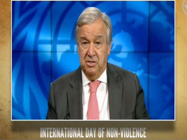 United Nations Secretary-General Antonio Guterres speaking at the virtual event titled