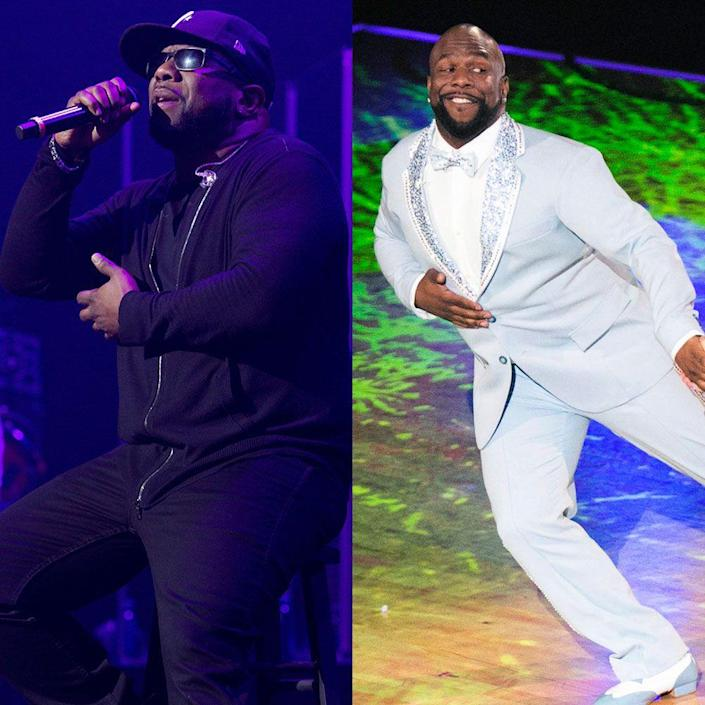 """<p>The Boyz II Men member says he lost 22 lbs. after more than a month of his <em>DWTS </em>journey. It's not just about the number on the scale for him, though. """"I feel great. I have a lot of energy,"""" he told <em><a href=""""https://people.com/tv/dancing-with-the-stars-wanya-morris-weight-loss/"""" rel=""""nofollow noopener"""" target=""""_blank"""" data-ylk=""""slk:People"""" class=""""link rapid-noclick-resp"""">People</a></em>. """"I'm able to continue and persevere in rehearsal. Even when I'm tired, I still feel the energy to continue, and I think I can attribute that to losing weight.""""</p>"""