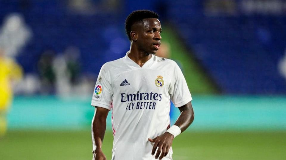 Vinícius forzó el penalti | Soccrates Images/Getty Images