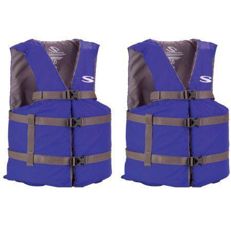"""<p>From $22</p><p><a class=""""link rapid-noclick-resp"""" href=""""https://www.walmart.com/ip/Coleman-Stearns-Adult-Classic-Series-Universal-Life-Jacket-Flotation-Vest-Blue/17058291?action=product_interest&action_type=title&beacon_version=1.0.2&bucket_id=irsbucketdefault&client_guid=c684a907-dd67-467b-8642-5bdf2ca61585&config_id=106&customer_id_enc&findingMethod=p13n&guid=c684a907-dd67-467b-8642-5bdf2ca61585&item_id=17058291&parent_anchor_item_id=40590082&parent_item_id=40590082&placement_id=irs-106-t1&reporter=recommendations&source=new_site&strategy=PWVAV&visitor_id=YcmvVkpuu6yTKkWNEPrfj0"""" rel=""""nofollow noopener"""" target=""""_blank"""" data-ylk=""""slk:BUY NOW"""">BUY NOW</a><br></p><p>If you're gonna head out onto Lake Michigan, you better take a<strong> life jacket.</strong></p>"""