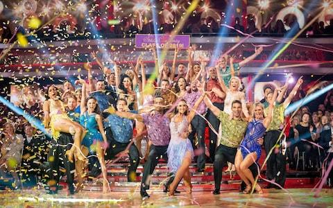 The Strictly class of 2019 return
