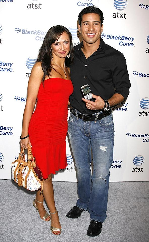 "Hot dance couple Karina Smirnoff and Mario Lopez pose for the camera. Jeffrey Mayer/<a href=""http://www.wireimage.com"" target=""new"">WireImage.com</a> - May 31, 2007"