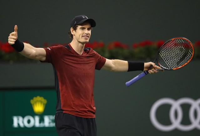 Andy Murray, world number one, picture in Paris in March (AFP Photo/CLIVE BRUNSKILL)