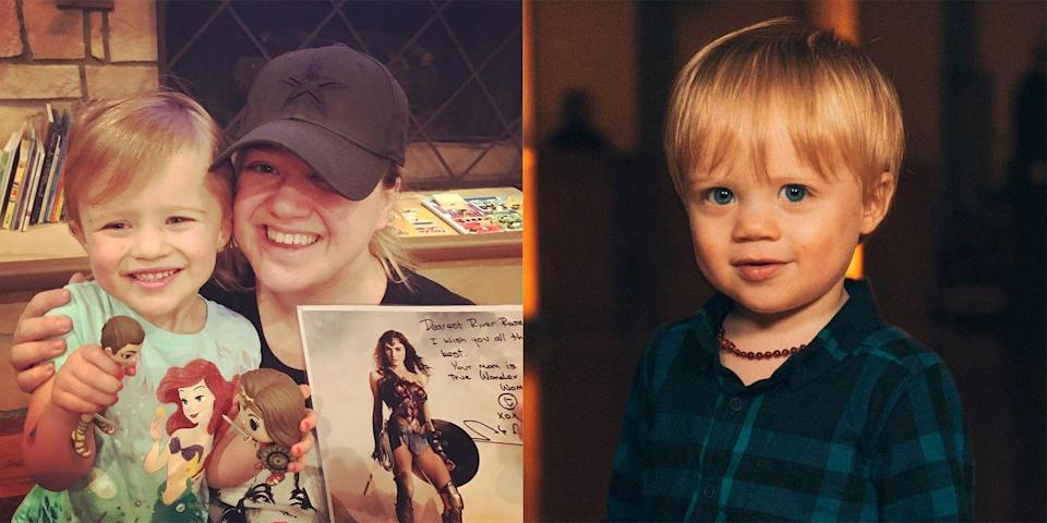 """<p>Kelly Clarkson and her husband Brandon Blackstock have two kids together—River Rose, 4, and Remington Alexander, 3. After experiencing two very difficult pregnancies, the <em>American Idol </em>alum decided she was done. """"Oh God, those tubes are gone!"""" she said on <a href=""""http://ktu.iheart.com/content/2017-09-13-kelly-clarkson-talks-new-album-american-idol-reboot-diss-tracks-more/"""" rel=""""nofollow noopener"""" target=""""_blank"""" data-ylk=""""slk:KTU's Cubby and Carolina in the Morning"""" class=""""link rapid-noclick-resp"""">KTU's <em>Cubby and Carolina in the Morning</em></a>. Kelly had previously said she'd wanted her family to be <a href=""""https://www.usmagazine.com/celebrity-news/news/kelly-clarkson-is-done-having-kids-those-tubes-are-gone-w502874/"""" rel=""""nofollow noopener"""" target=""""_blank"""" data-ylk=""""slk:six members"""" class=""""link rapid-noclick-resp"""">six members</a>, but decided four would be okay too.<br></p>"""