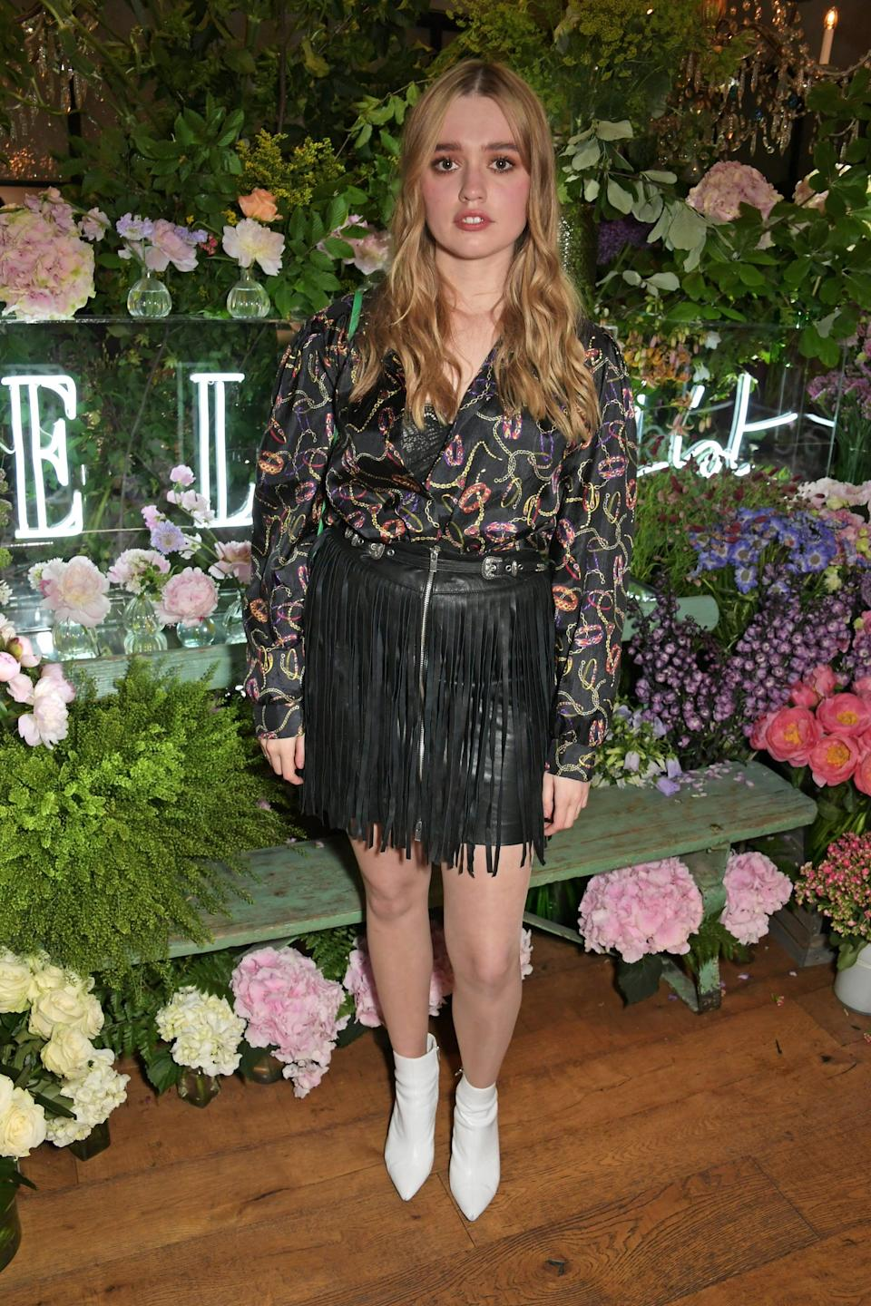 <p>Wood is bringing back Aimee, the popular girl who's crossed over to hang with the decidedly less-cool main group of friends.</p>