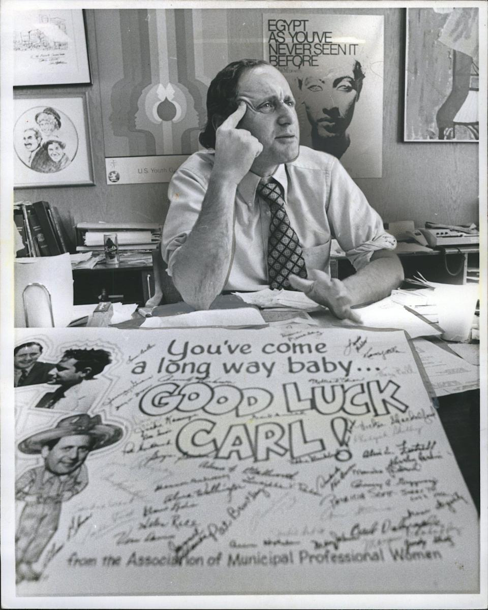Former Sen. Carl Levin, a liberal Democrat, rose from a prominent Detroit family to become Michigan's longest-serving U.S. senator.