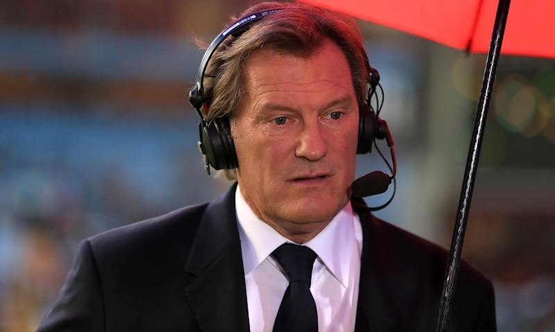 Former England football manager Glenn Hoddle 'collapses' at BT studios