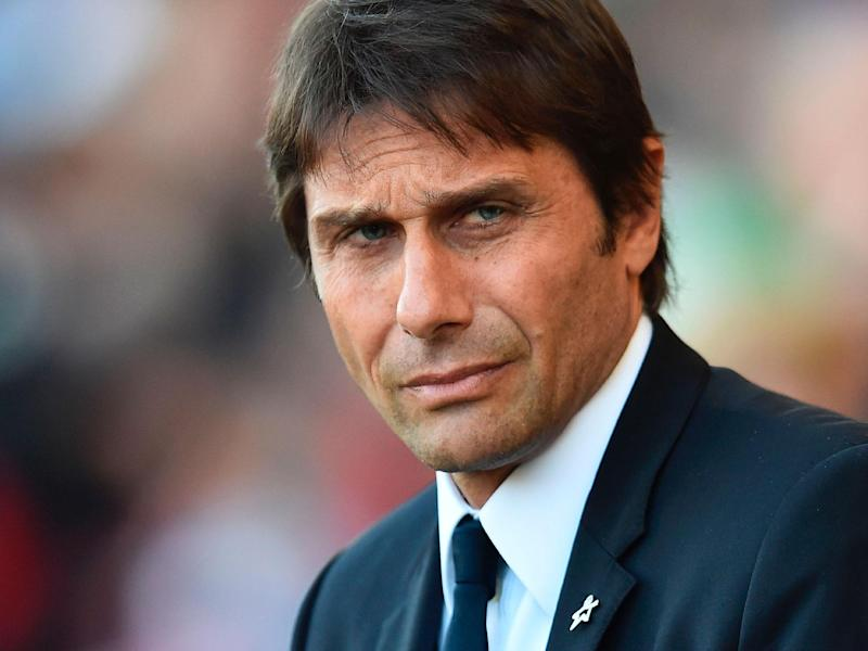 Conte said Tottenham must be considered at the top of the English game: Getty