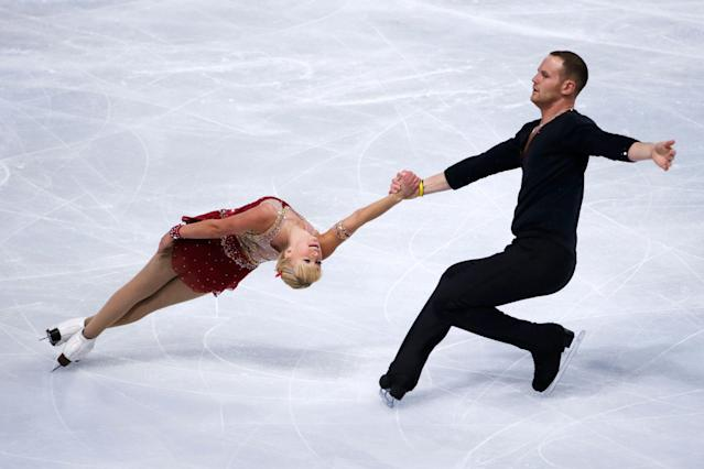 Sexual assault allegations against John Coughlin led to SafeSport's finding of a larger culture in U.S. Figure Skating. (KENZO TRIBOUILLARD/AFP/Getty Images)