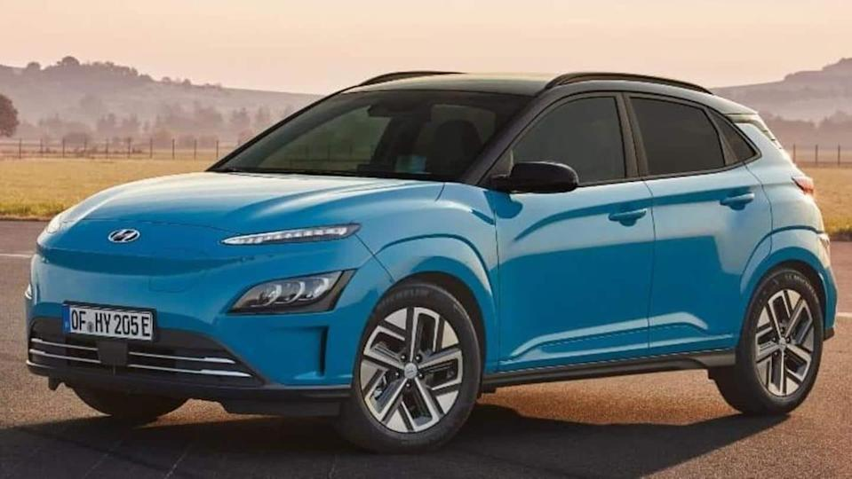 Hyundai Kona Electric (facelift), with refreshed design and ADAS, revealed