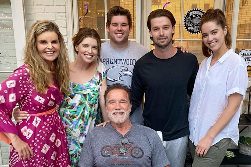 Schwarzenegger Family Reunites to Celebrate Arnold's Birthday, Shares Pic on Instagram