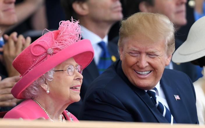 The Queen and Donald Trump - Karwai Tang/WireImage