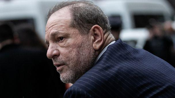 PHOTO: Film producer Harvey Weinstein leaves Criminal Court during his sexual assault trial in the Manhattan borough of New York City, Feb. 6, 2020. (Jeenah Moon/Reuters)