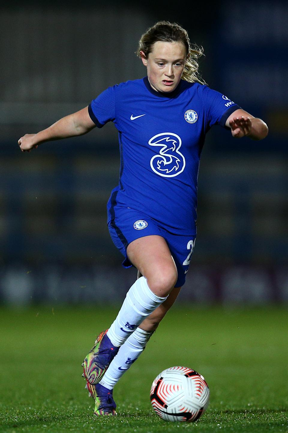 <p>Cuthbert in action for Chelsea</p>Getty Images