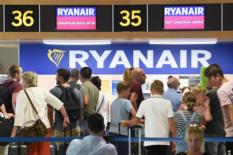 Ryanair pilots are planning to stage a 48-hour walkout on 3 September. (Getty)