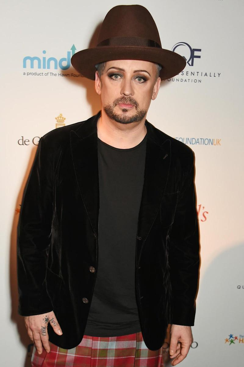 Biopic: Boy George will take centre stage in an upcoming film (Dave Benett)