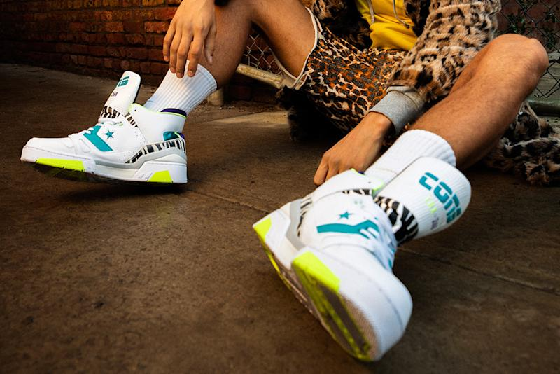 34d7121f7f92 Don C s Latest Converse Basketball Sneaker Remix Is Inspired by Animals and  Metal