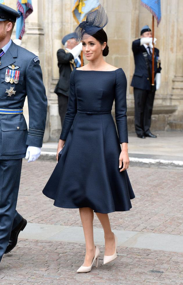 Meghan, Duchess of Sussex during the RAF Centenary at Westminster Abbey, London.