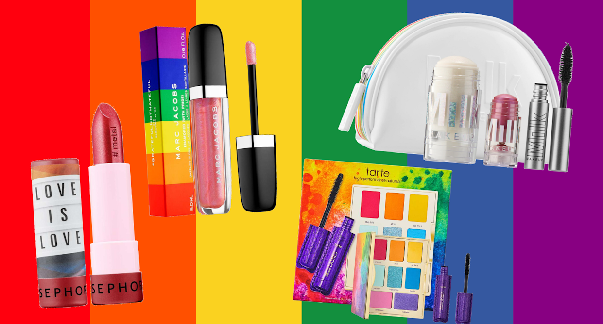 Beauty brands that give back for Pride