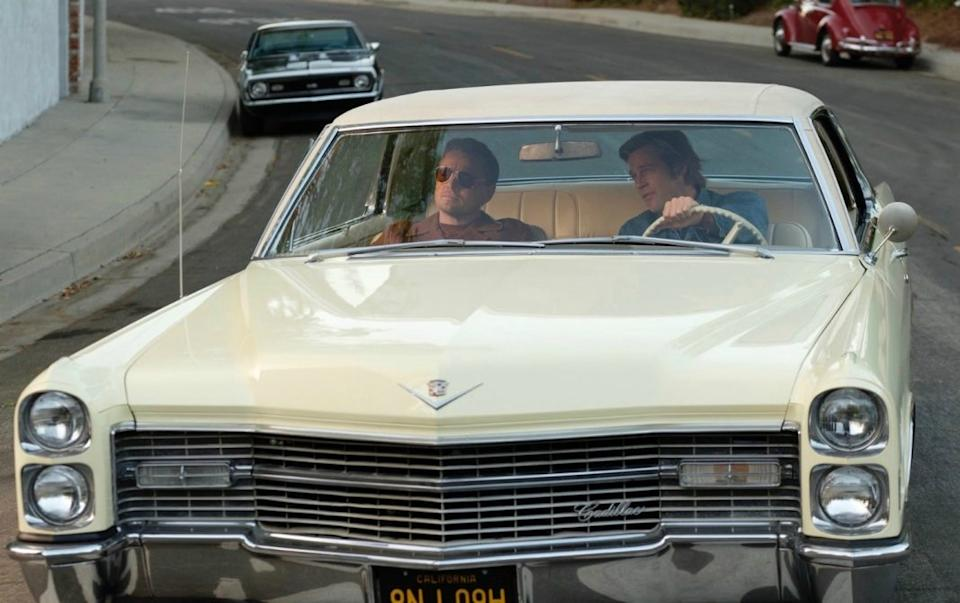 A yellow Cadillac featured in Quentin Tarantino's Once Upon A Time… In Hollywood is also up for sale (Sony Pictures/PA)