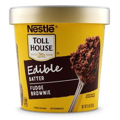 NESTLÉ® TOLL HOUSE® Edible Fudge Brownie Batter