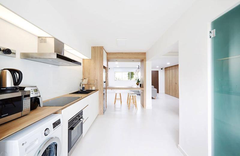 No More Walls 20 Beautiful Open Kitchens To Adopt For Your Bto