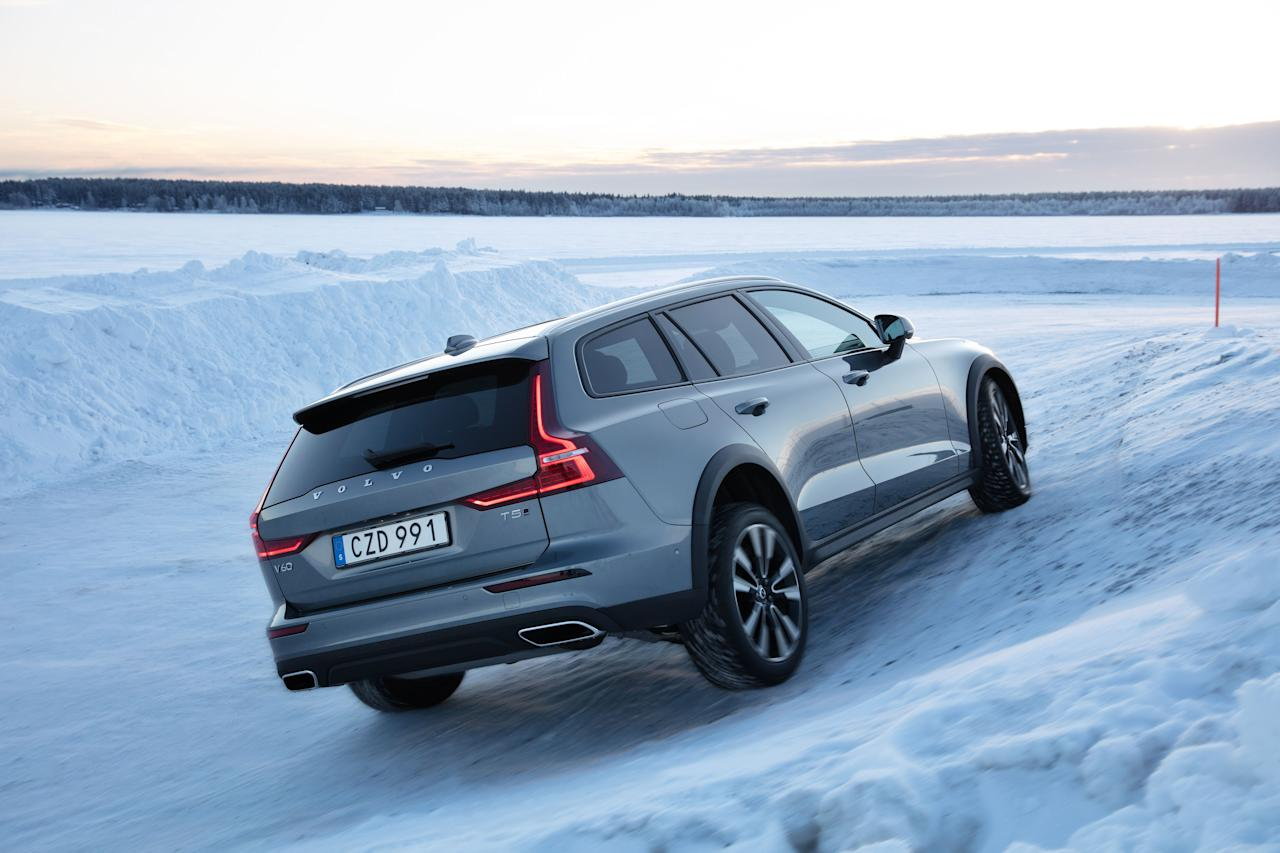 Every Photo From Our Drive In The 2020 Volvo V60 Cross Country