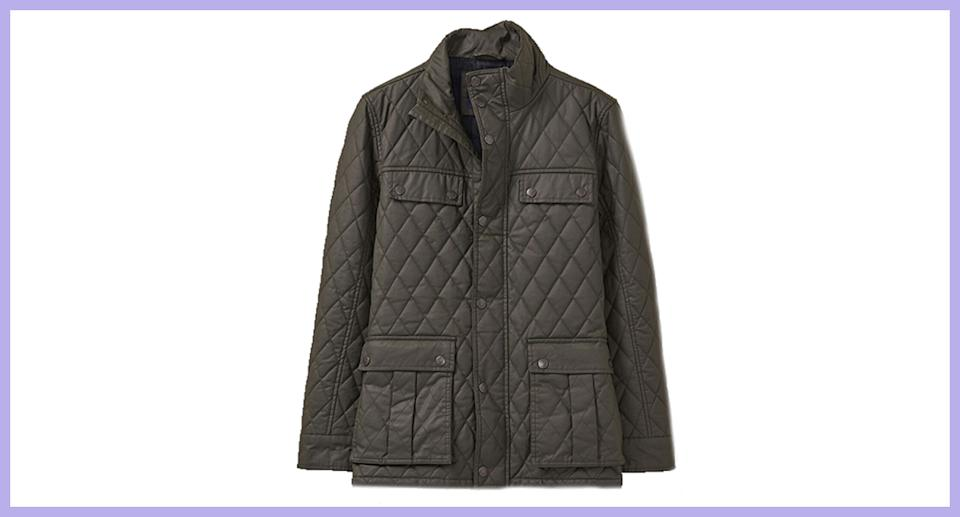 New Crew Clothing Men's Durleigh Jacket in Green
