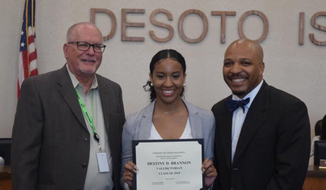 Destiny Brannon (Photo: Instagram courtesy of DeSoto ISD)