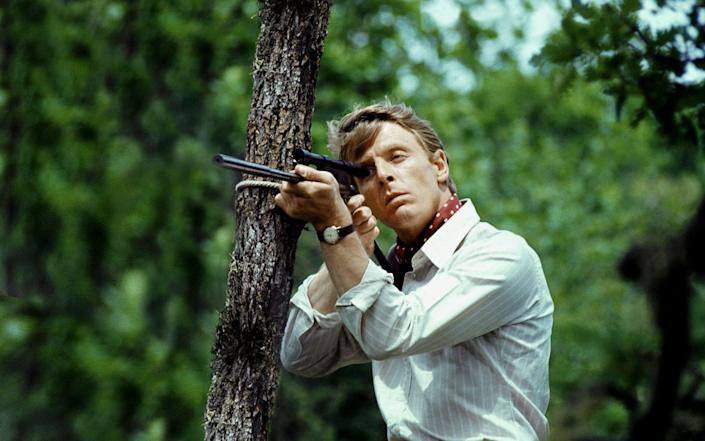 Edward Fox in the 1973 adaptation of Day of the Jackal - https://www.alamy.com