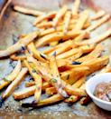 "<p>Homemade sweet potato fries are ""an easy way to add veggies to your diet,"" said Diana Gariglio-Clelland, a registered dietitian at <a href=""https://balanceone.com"" class=""link rapid-noclick-resp"" rel=""nofollow noopener"" target=""_blank"" data-ylk=""slk:Balance One Supplements"">Balance One Supplements</a>, and sweet potatoes are full of vitamins A and C to boot. Making them yourself helps you avoid the deep-fried versions served at restaurants, which Diana said is great for those looking to lose weight. Here's a quick <a href=""https://www.popsugar.com/fitness/Healthy-Sweet-Potato-Fries-34184453"" class=""link rapid-noclick-resp"" rel=""nofollow noopener"" target=""_blank"" data-ylk=""slk:sweet potato fry recipe"">sweet potato fry recipe</a>, no fryer necessary.</p>"