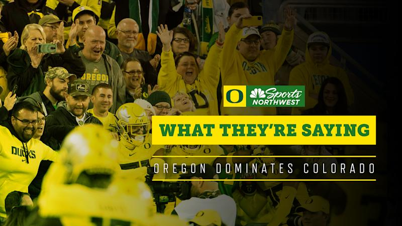Social media reacts: Safe to say, Oregon beat the spread