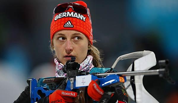 Biathlon: Hinz und Rees in der Single-Mixed-Staffel auf Rang elf