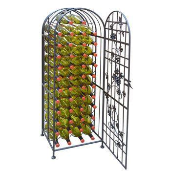 "<a href=""http://www.costco.com/Epicureanist-60-bottle-Grapevine-Wine-Jail.product.100130435.html"" target=""_blank"">Epicureanist 60-bottle Grapevine Wine Jail</a>, $219.99"