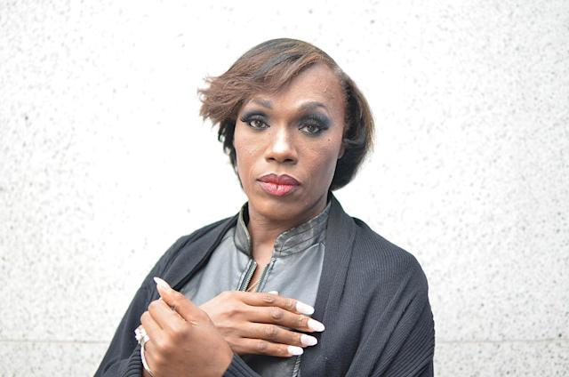Trans Beauty Clinic attendee Grace Detrevarah. (Photo: Anne Kristoff for Yahoo Lifestyle)