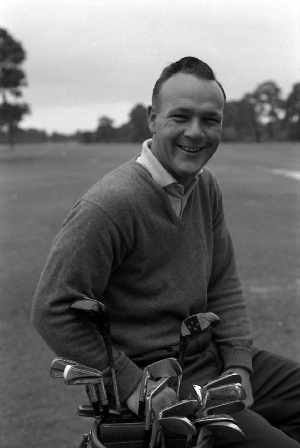 <p>Professional golfer Arnold Palmer died on Sept. 25, 2016 at 87 from cardiovascular disease. Photo from Getty Images </p>