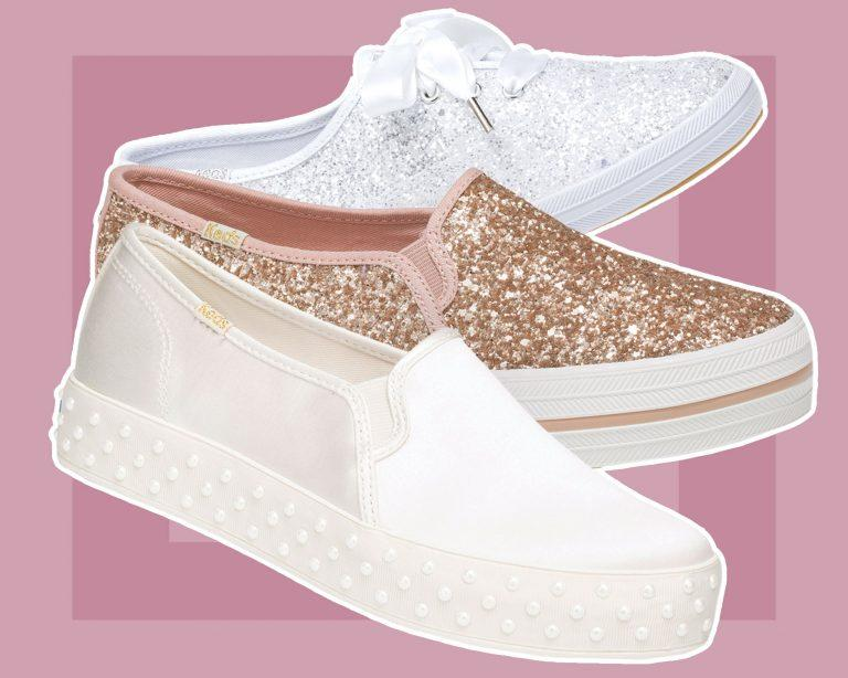 b2c369cabeca Kate Spade and Keds Just Dropped Another Wedding Sneaker Collection