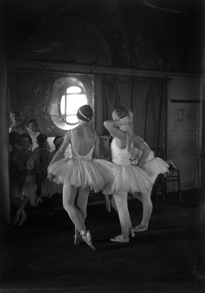 <p>Growing up in France, Fath had access to creative outlets such as the ballet and theater. A recurring reference throughout his career comes from the silhouette of ballet tutus. Their peplum shape would give rise to the narrow waists in many of his creations.</p>