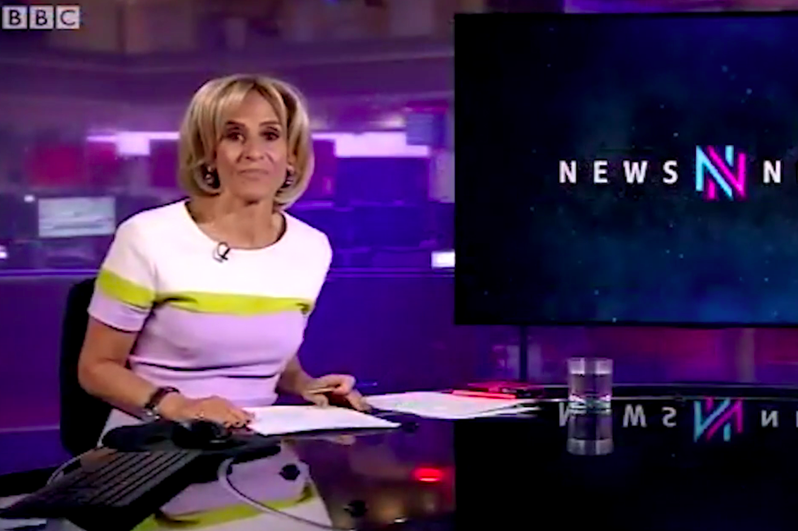 Emily Maitlis did not present Wednesday's edition of Newsnight following remarks she made about Dominic Cummings. (BBC)