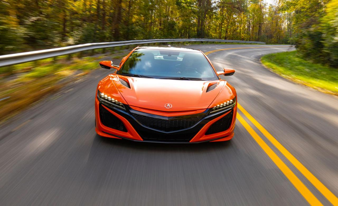 "<p>You'll notice a decidedly carroty theme as this list goes on, but the Thermal Orange Pearl offered on <a href=""http://caranddriver.com/acura/nsx"" target=""_blank"">the 2019 NSX</a> is, in our humble opinion, the best-looking orange offered today. </p>"