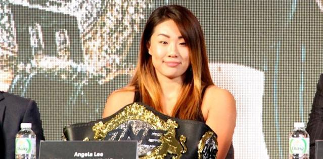 Angela Lee for MMA Weekly 750
