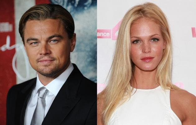 Leonardo DiCaprio, Erin Heatherton -- Getty Images