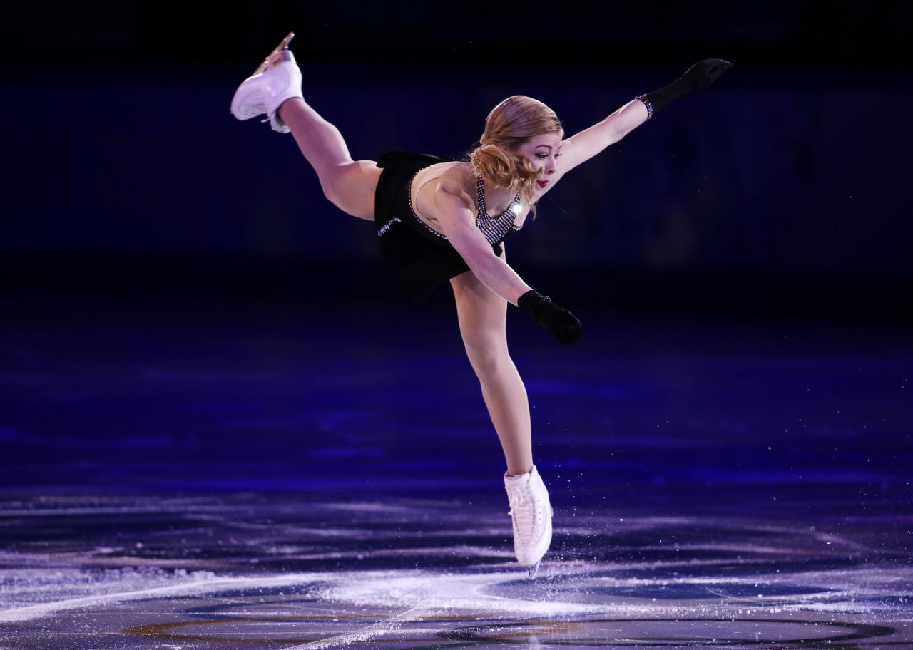 <p>Gracie Gold was a first time Olympian in 2014 when she finished fourth in the ladies' singles event and took home a bronze in the team event. Expected to compete in PyeongChang, she instead announced that she would take a break from competing while she is in treatment for an eating disorder and depression </p>