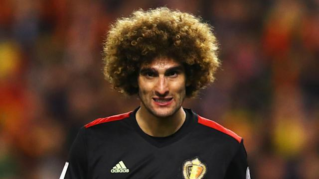 With Paul Pogba and Michael Carrick already out, Jose Mourinho could be without Marouane Fellaini for the Premier League game at Liverpool.
